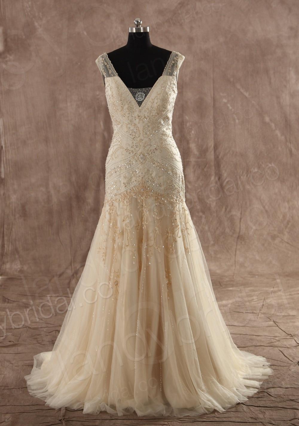 Chocolate wedding dress