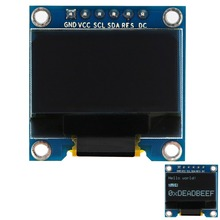 0.96 inch 128 x 64 OLED White Screen Display Module Board with I2C / 4SPI / 3SPI for Arduino