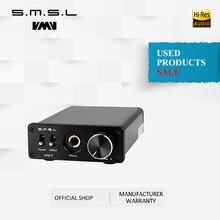 Использованные продукты SMSL sap II усилитель для наушников TPA6120A2 большой мощности HiFi Fidelity стерео усилитель для наушников с 2 входами переключателя