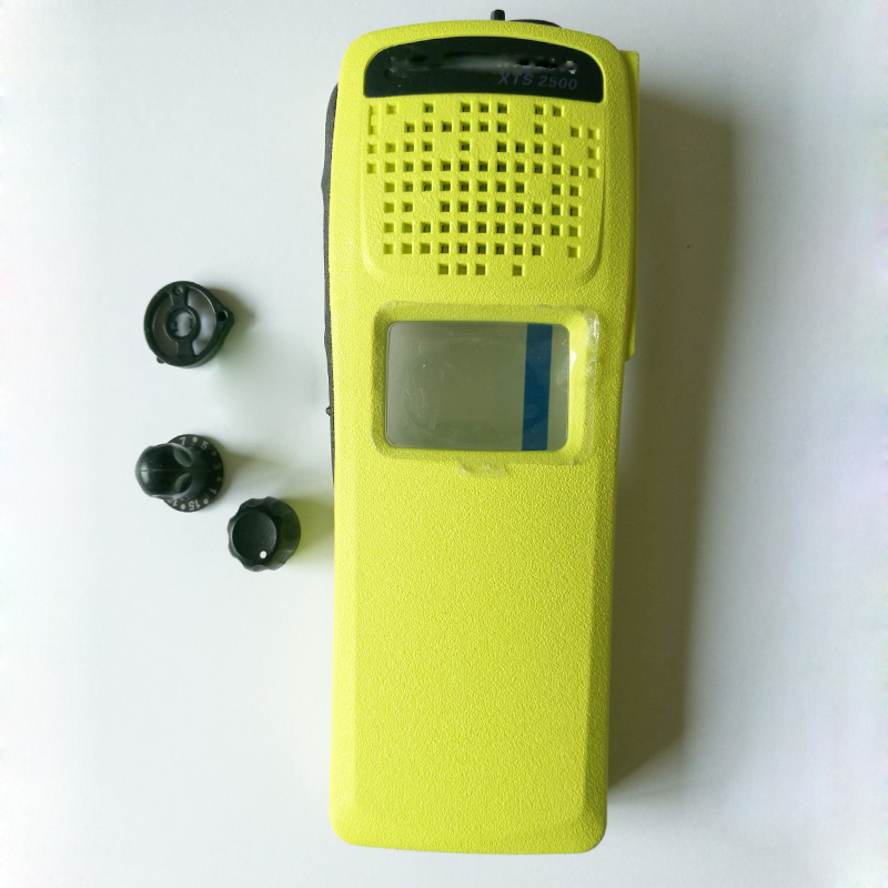 2SetsX Top Housing Casing Yellow Color For XTS2500 Without Keypad Version