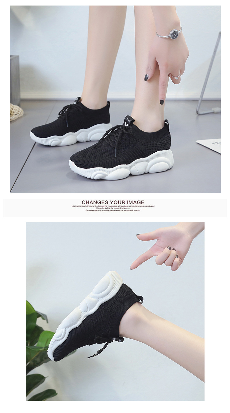 Breathable Women Casual Shoes Summer Lace Up White Platform Sneakers Fashion Soft Walking Flat Women Vulcanize Shoes New VT220 (8)