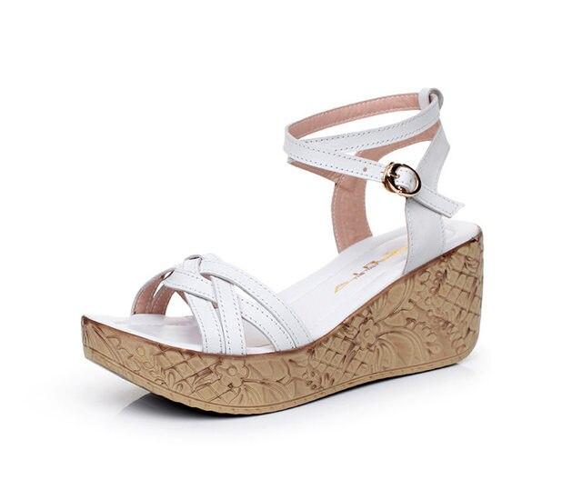 68f3c9c31335d7 Online Shop Plus Size 41 Women Sandals 2017 Summer New Open Toe Fish ...