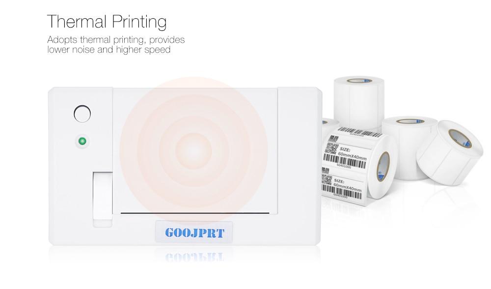 Big Deal] Original GOOJPRT QR701 Mini 58mm Embedded Receipt