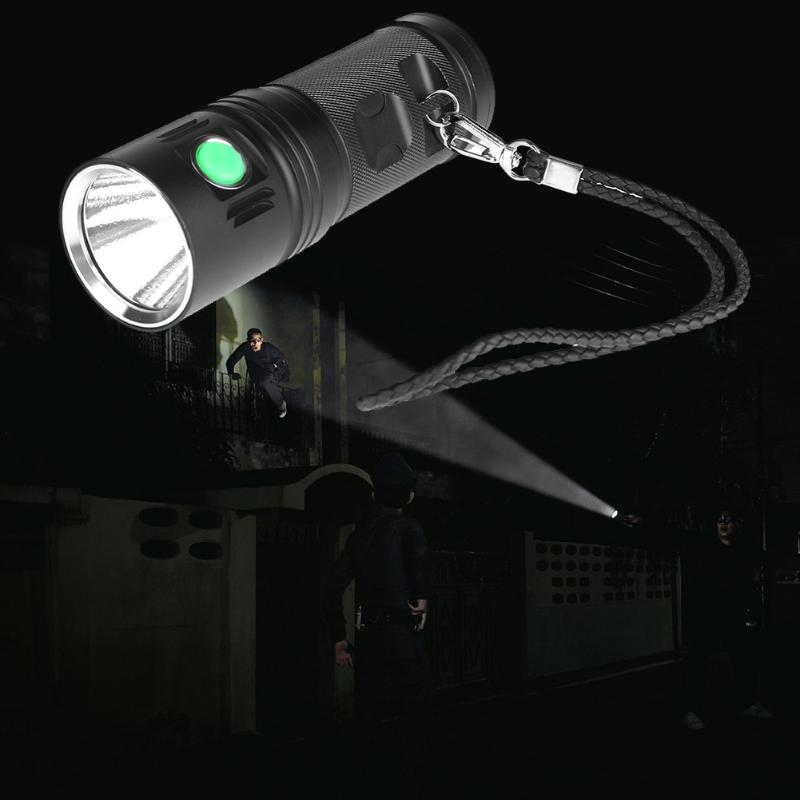 New Aluminum Alloy Waterproof USB Rechargeable 3500 LM CREE XHP70 LED Torch Flashlight LED Lamp portable ultra bright waterproof aluminum alloy mini led flashlight