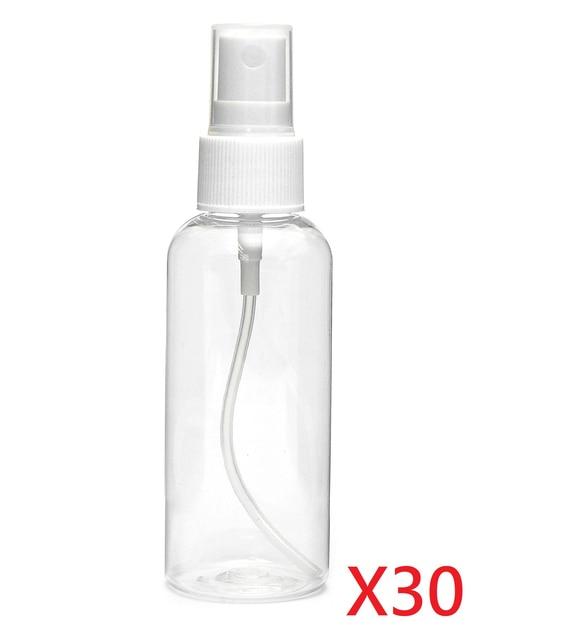 YOST 30PCS Fine Mist Spray Bottle 2.5 oz.