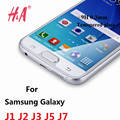 9 H 0.3 мм Закаленное Стекло для Samsung Galaxy J1 J2 J3 J5 J7 фильм 2.5D Дуги Край Закаленное Протектор Экрана