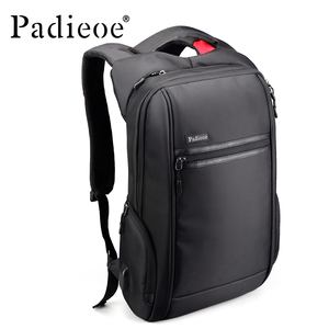 Image 1 - Padieoe 2018 New Designer Canvas Laptop Backpack for Travel Fashion Men Daypack Charging card High Quality Stylish Male Backpack