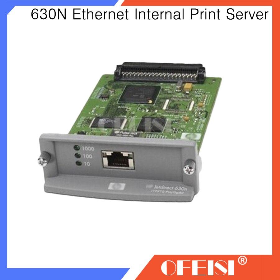 95% nouvelle carte réseau de serveur d'impression interne Ethernet JetDirect 630N J7997G et imprimante de traceur DesignJet