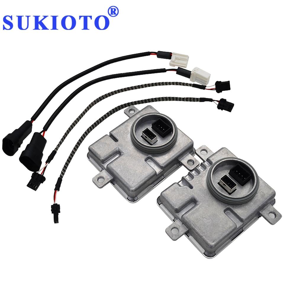 SUKIOTO Xenon D1S D3S ballast 55W Electronic ballast Headlight Figment 8K0941597 A3 A4 A6 A7 A8 Sagitar Magotan Power Control(China)