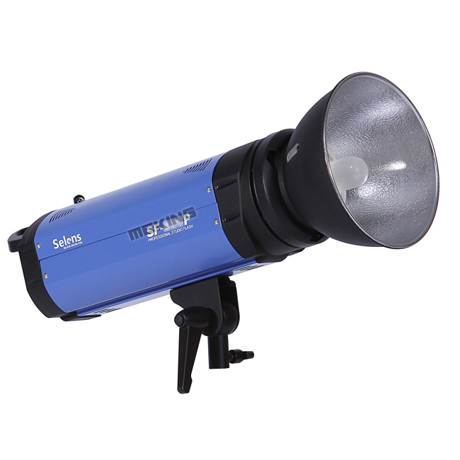 SF-PRO-1200P Flash de Studio professionnel selens 110 V avec câble synchrone de puissance de réflecteur de lampe de modélisation