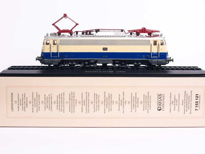 Atlas edições 1: 87 baureihe e 10 1266 (1962) coleções edição limitada modelo de trem
