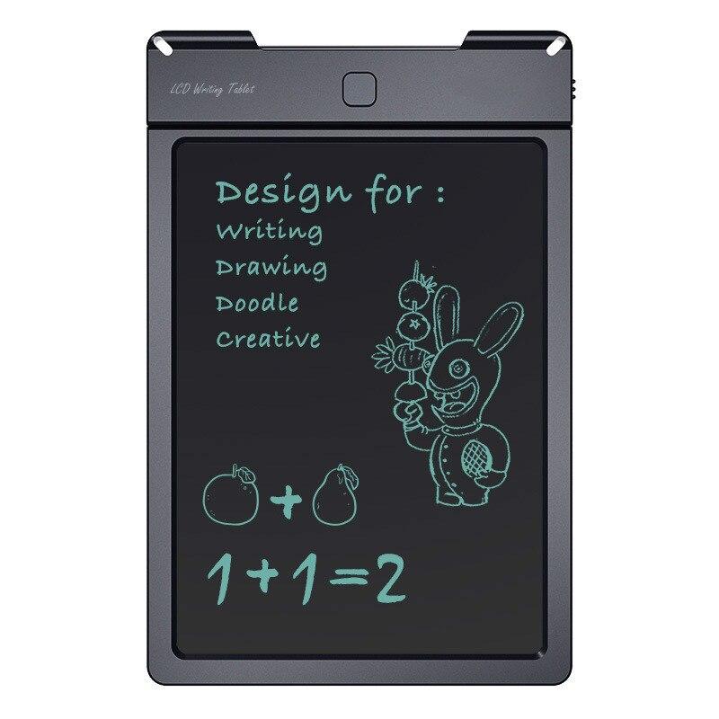 Tablette d'écriture LCD couleur noire réinscriptible sans papier 13 pouces tablette d'écriture sans fil bureau de dessin graphique utilisant