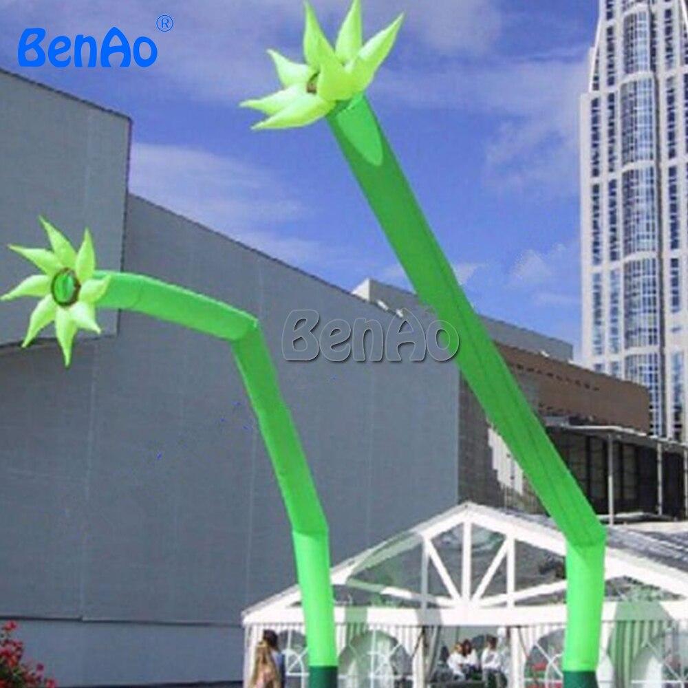 AD476 BENAO Sky Flower надувная воздушная танцовщица и небесная танцовщица/рекламный надувной танцовщик, цветочная форма воздушный танцор для мероприятия