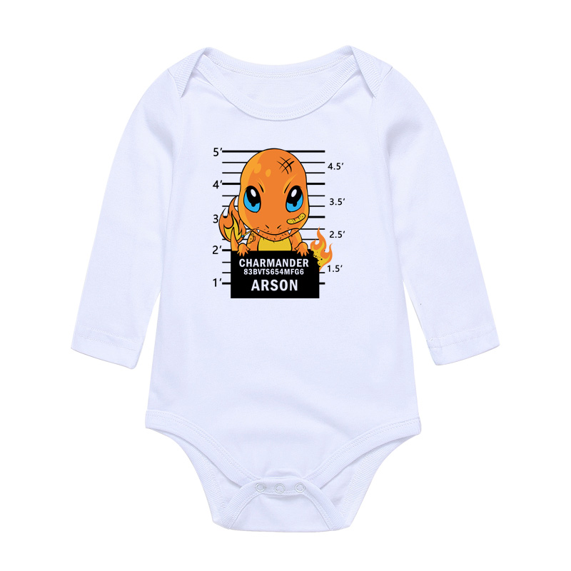 Baby Bodysuits Boys Girls Newborn Babies Clothing Set Cartoon Print Infant Jumpsuits Cotton Overall Todder Outwear Pajamas