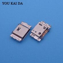Connecteur de charge micro usb, 500 pièces, pour Samsung J5 J500 J5008 J500F J7 J700 J700F J7008 J300F J1 J100