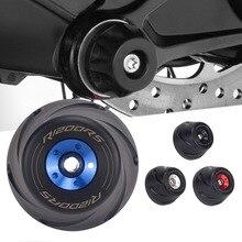 R1200RS LC อุปกรณ์เสริมรถจักรยานยนต์ล้อ Slider Anti CRASH Pad ป้องกัน FALLING Moto สำหรับ BMW R 1200RS R1200 ฿ LC