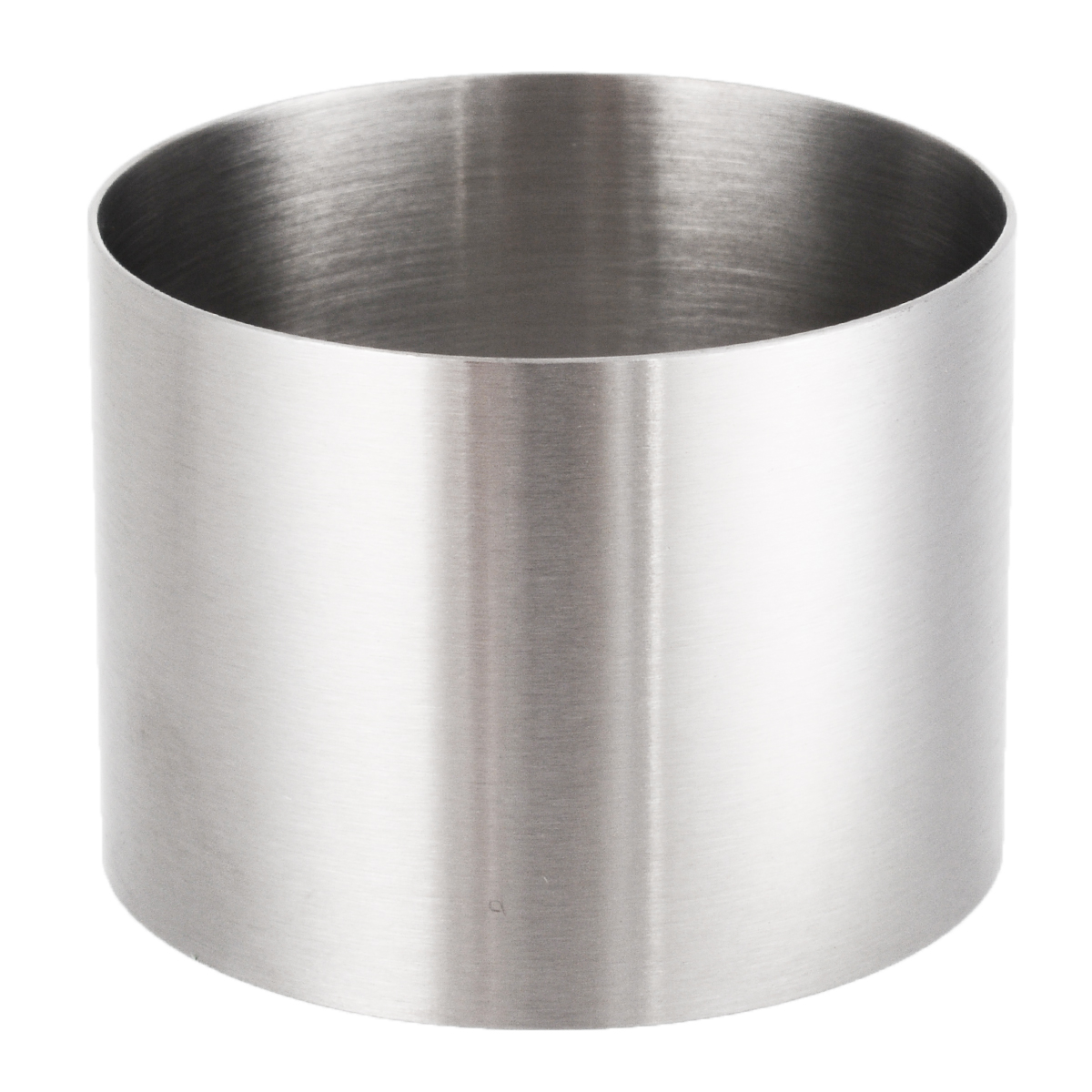 1PC Stainless Steel Cake Mold Fondant Mould Round Cake Mold Chocolate Mousse Cake Pastry Baking Tool