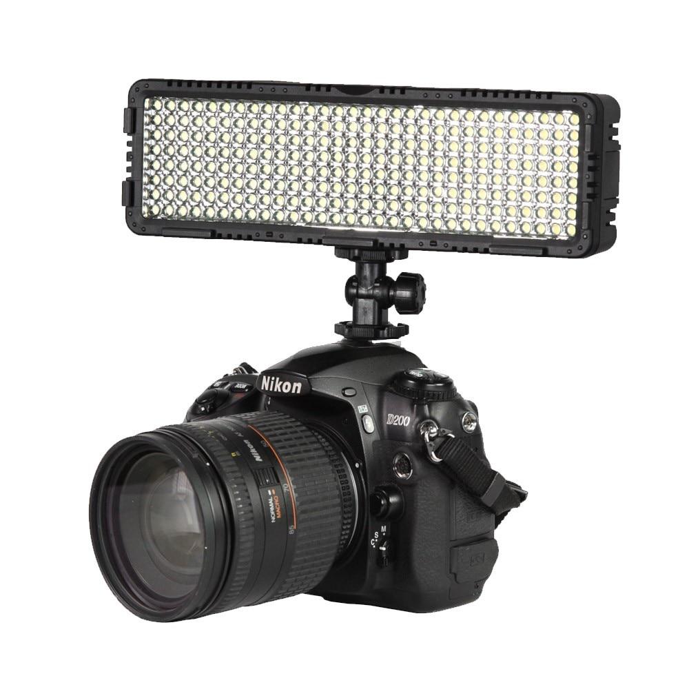 NanGuang CN-LUX2400 100V-240V 3200K/5600K LED Video Light Lamp For Canon Nikon Sony Camera DV Camcorder mixpad 10 professional ra95 led camera video light 3200k 5600k led photo lighting for canon nikon sony dslr camera dv camcorder