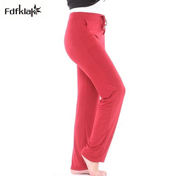 Plus size 4XL pijama pants women pajama pants home wear bottoms ladies cotton pant sleepwear autumn women's sleep pant S0142