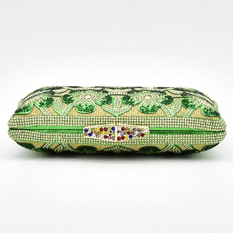 A Verde teal Bolso Y Los Juego Del púrpura Rhinestone Decorado rojo amarillo Último Nigeriano Negro Sistema Bolsos Con Zapatos Sistemas oro El verde Partido plata Color azul 5q7v0R
