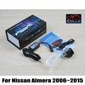 Mais novo 12 V Car Styling Cauda A Laser Luzes de Nevoeiro Para Nissan Almera 2006 ~ 2015/À Prova D' Água Anti Colisão Traseira-end Auto Lâmpada de Advertência