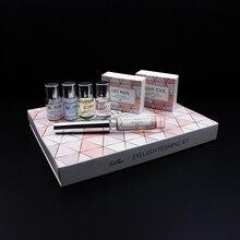 5 Sets Mini Eyelash Perming Kit for lashes lifting Professional Cilia Lift Perm Set with Rods Glue Beauty Make Up Tools