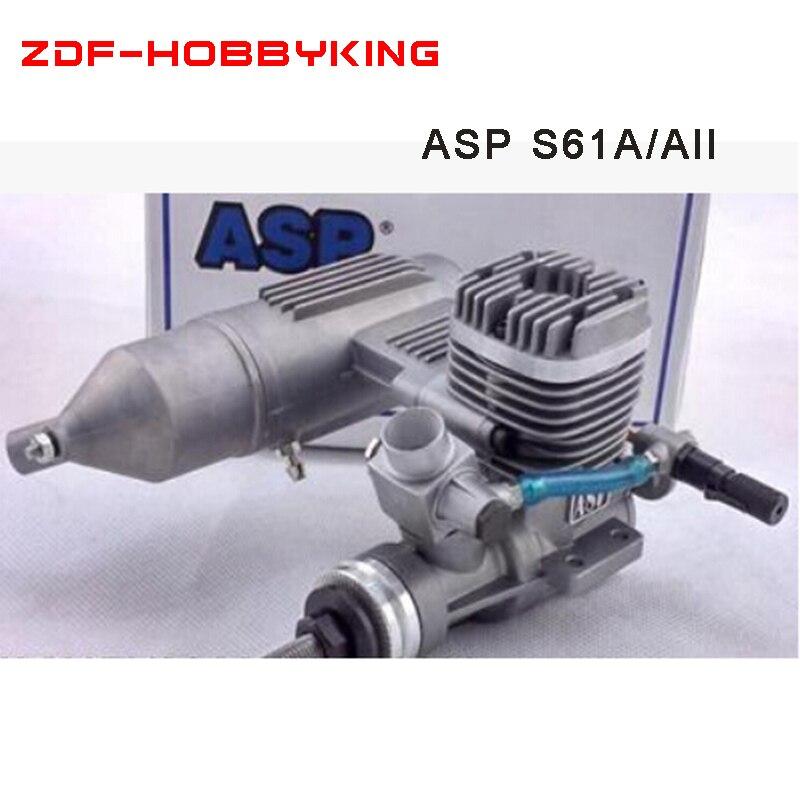 Original New ASP 2Stroke 10cc S61A S61AII Nitro Engine for RC Airplane Free Shipping