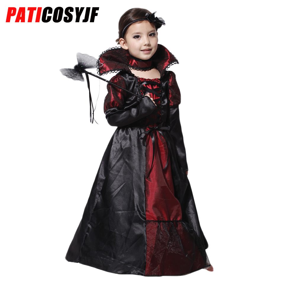 <font><b>halloween</b></font> <font><b>sexy</b></font> girls vampire costume cosplay kids fancy <font><b>dress</b></font> costumes <font><b>halloween</b></font> party fancy vampire girls costume image