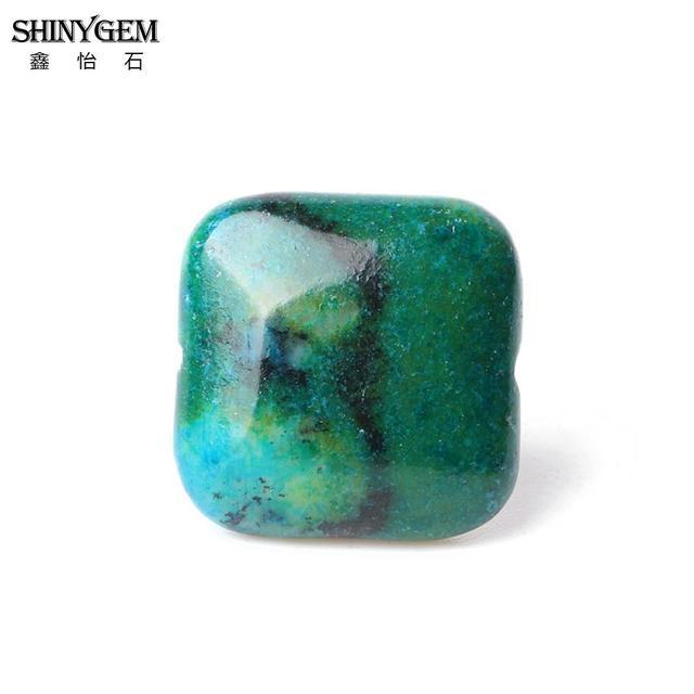 Купить shinygem 20 мм квадратный камень феникс большой окрашенный хризолла