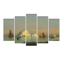 Canvas Painting Home Decoration Pictorial art Ships Fashion Bedroom Modern Prints Creative Wall Art Picture Free Shipping Abooly