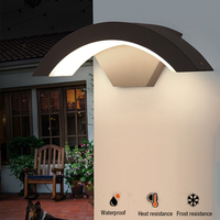 Wall Lamp Modern 15W LED Wall Light Indoor Sconce Decorative lighting Porch Garden Lights Wall Lamps Outdoor Waterproof