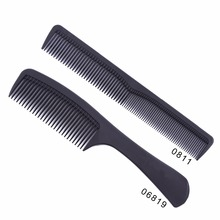Hair-Cutting-Comb-Set Hairdressing Black Combs Anti-Static-Comb Two-Carbon Tail 2pcs/Set