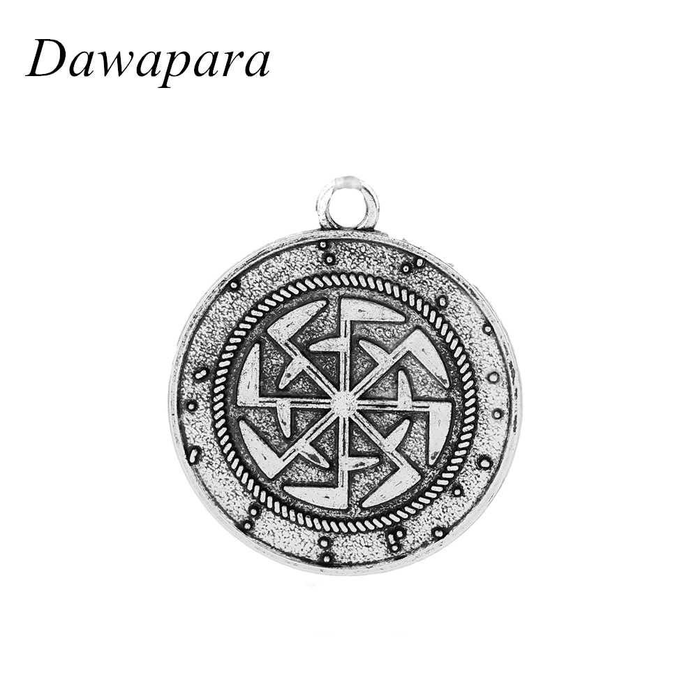 Dawapara סלאבית אתני הצהרת שרשראות אביזרי גברים ונשים אופנה שם מותג תכשיטי וינטג תליוני וקסמים