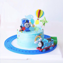 track shape toys ,1pc 10 inch,kids boy birthday party cake decorations tools,cake topper,cake accessory
