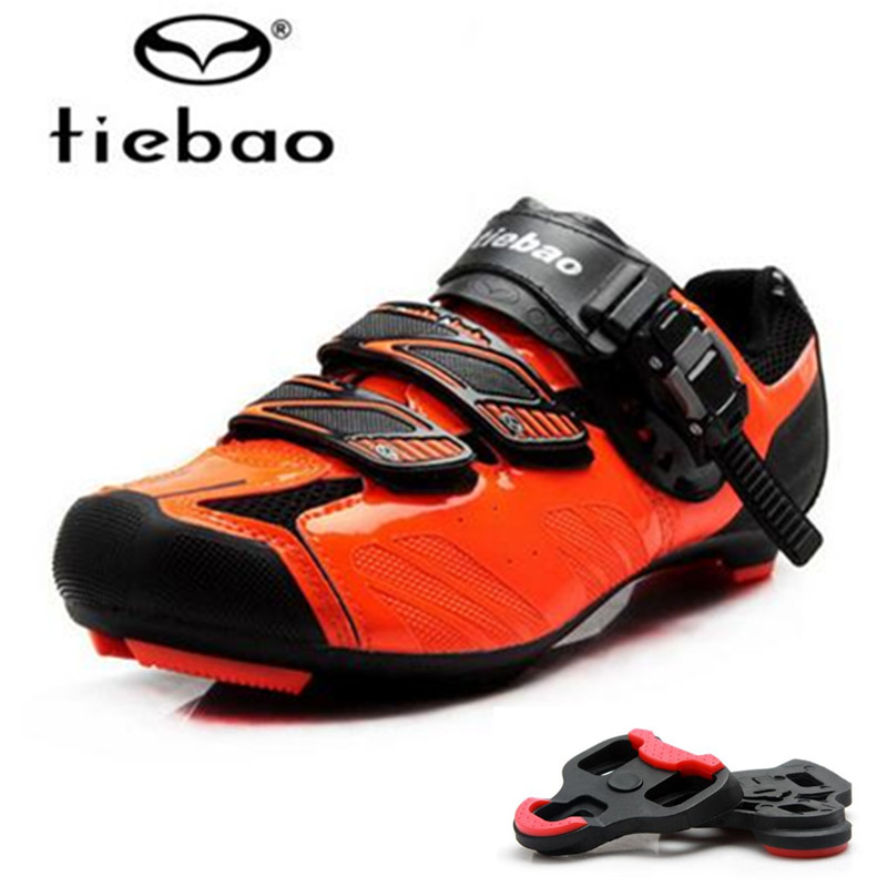 TIEBAO sapatilha ciclismo Road 2018 Cycling Shoes add pedal plywood zapatillas deportivas hombre Bicycle Bike men Shoes women tiebao professional road shoes rotating screw steel wire with fast cycling shoes road bike shoes tb16 b1259