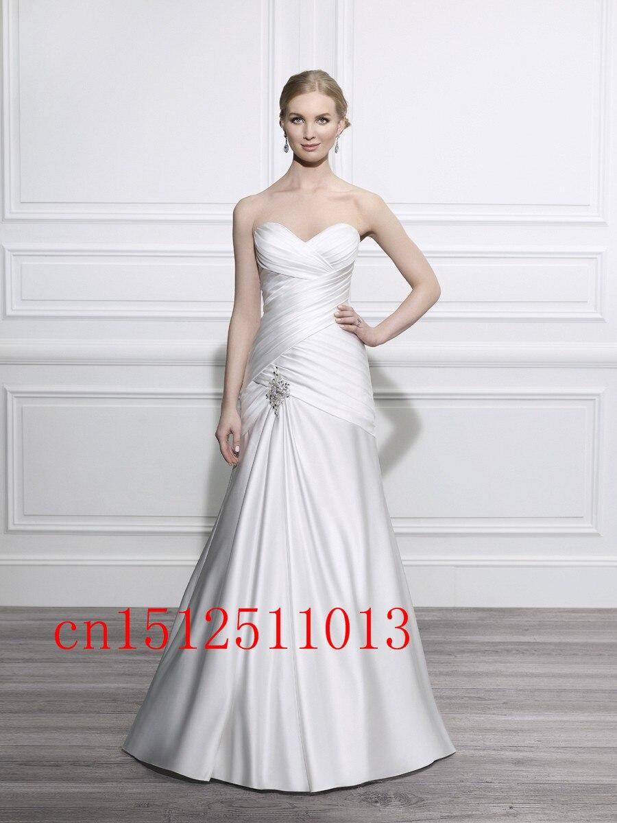 Atemberaubend Einfache Hochzeitskleider Für Plus Size Bilder ...