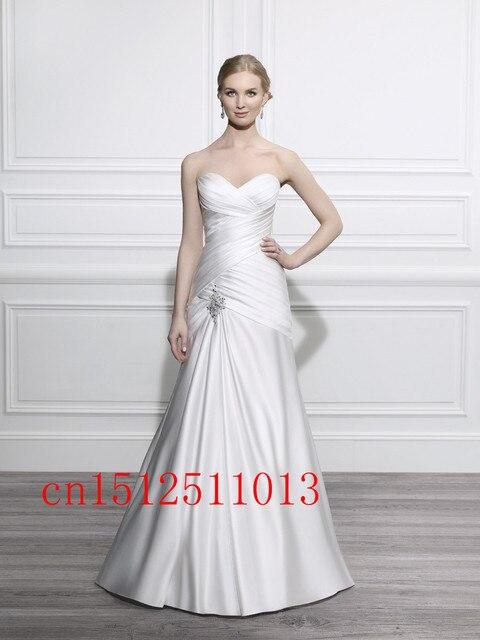 Neue 2016 Sexy Hochzeitskleid Einfache Vestido Plus Size hot ...