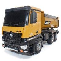 HUINA игрушки 1573 1/14 10CH сплав RC самосвал Инженерная строительная машина пульт дистанционного управления игрушка RTR RC грузовик подарок для маль