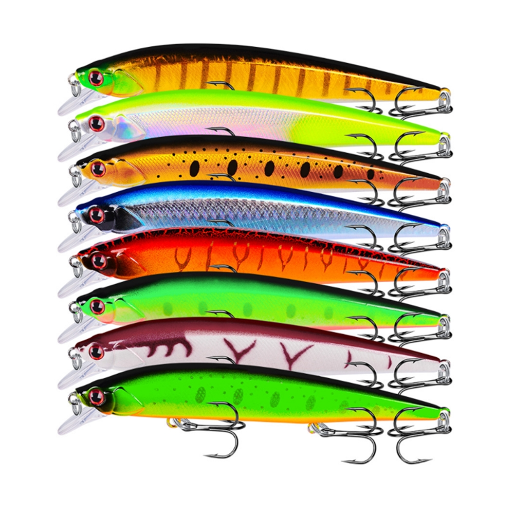 1pc Hard Fishing Lures Minnow Bait Power Weight System 140mm 18.5g Professional 3D Eyes Hard Fishing Lure Topwater Fishing Baits