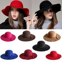 e7695f3cc748e Fashion Women Beach Sun Hat Waves Big Brim Sunbonnet Imitation Wool Sun Hat  Casual Hats for