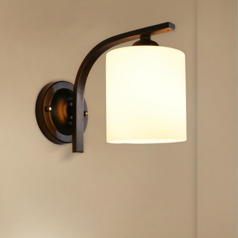 Simple and modern European wall lamp bedroom bedside lamp aisle corridor balcony lighting accessories led lighting fixture lamps цена