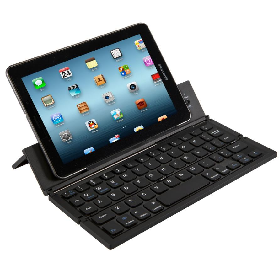 Mosunx bonne vente Portable Mini sans fil pliable sans fil Bluetooth clavier pour tablette smartphone Windows Android IOS PC Aug 9