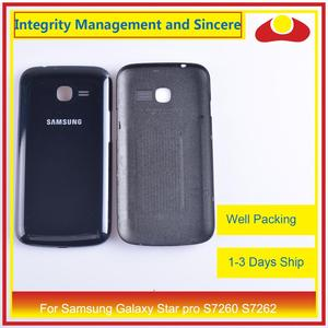 Image 2 - For Samsung Galaxy Star pro S7260 S7262 Housing Battery Door Rear Back Cover Case Chassis Shell Replacement