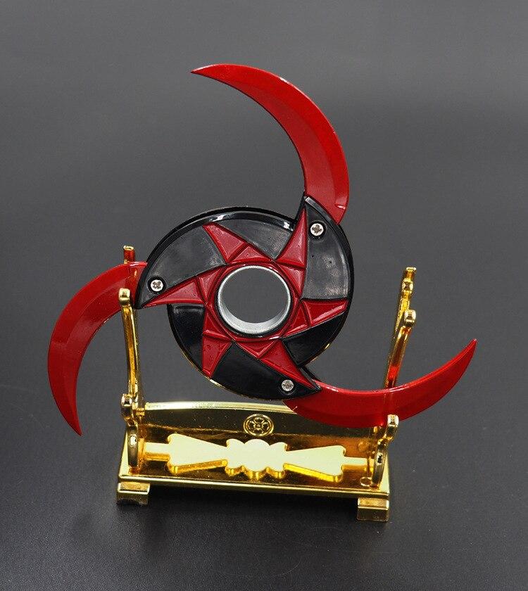 Naruto kakashi escribe ojos redondos plegables shuriken rotativos, rodamientos de dardos, puntales, cuchillo de juguete