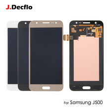 Super OLED AMOLED For Samsung J5 2015 J500 J500F J500G J500Y J500M LCD Display Touch Screen Digitizer AAA Qaulity цена