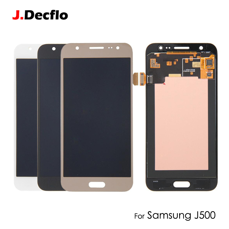 Super OLED AMOLED pour Samsung J5 2015 J500 J500F J500G J500Y J500M LCD écran tactile numériseur AAA qualité