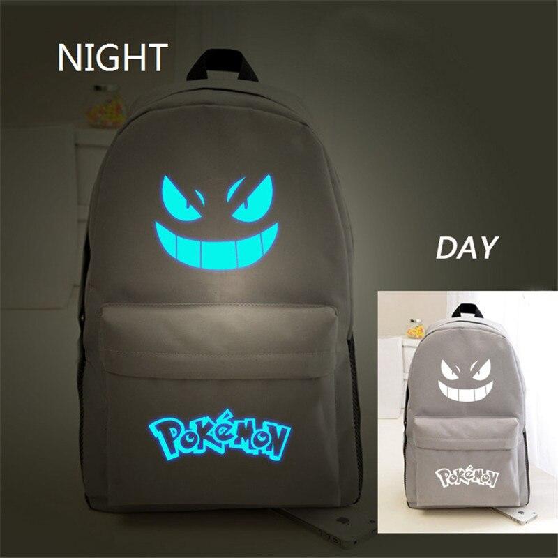 gengar emoji backpack school bolsas Ocasion : Birthday Etc.