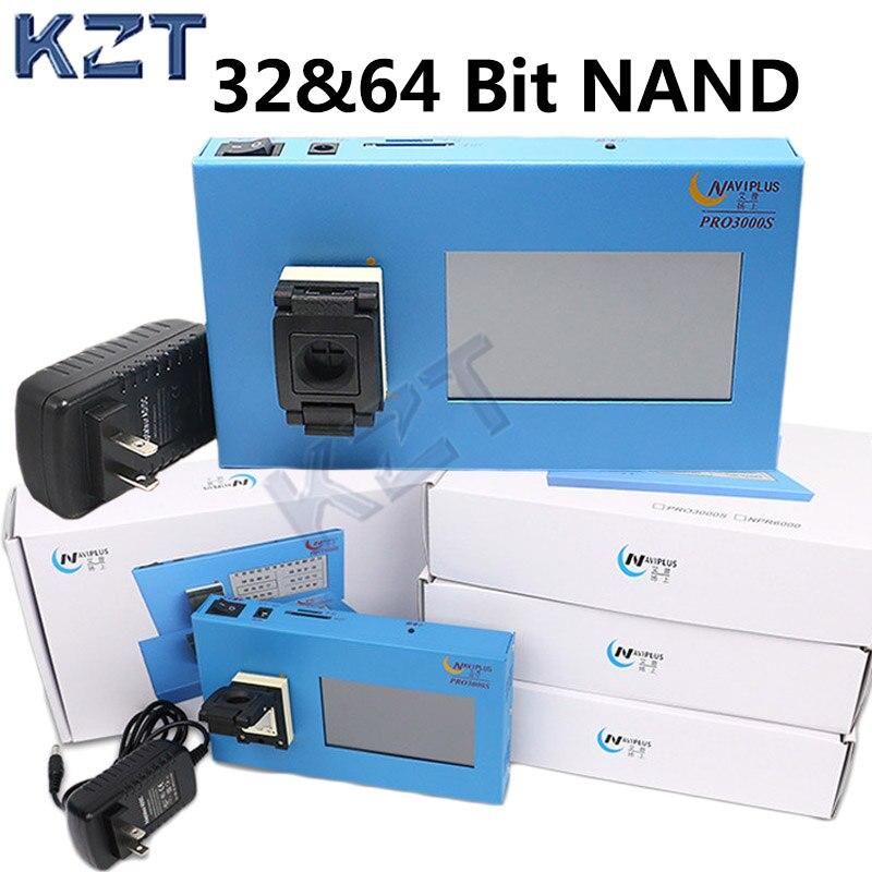 Navi pro3000 32 64 bit nand IC chip programmatore iPhone 4 a 6 P iPad Strumento Fix Riparazione della Scheda Madre HDD Numero di serie di Chip SN Modello