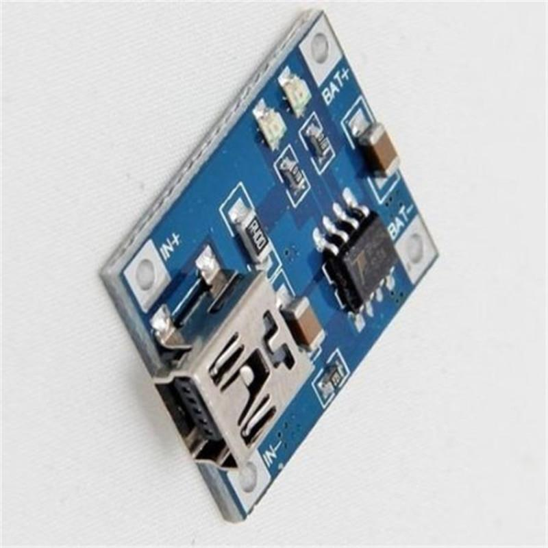 Image 2 - 5V 1A Lithium Battery Charging Board Charger Module Li ion LED Charging Board-in Parts & Accessories from Toys & Hobbies