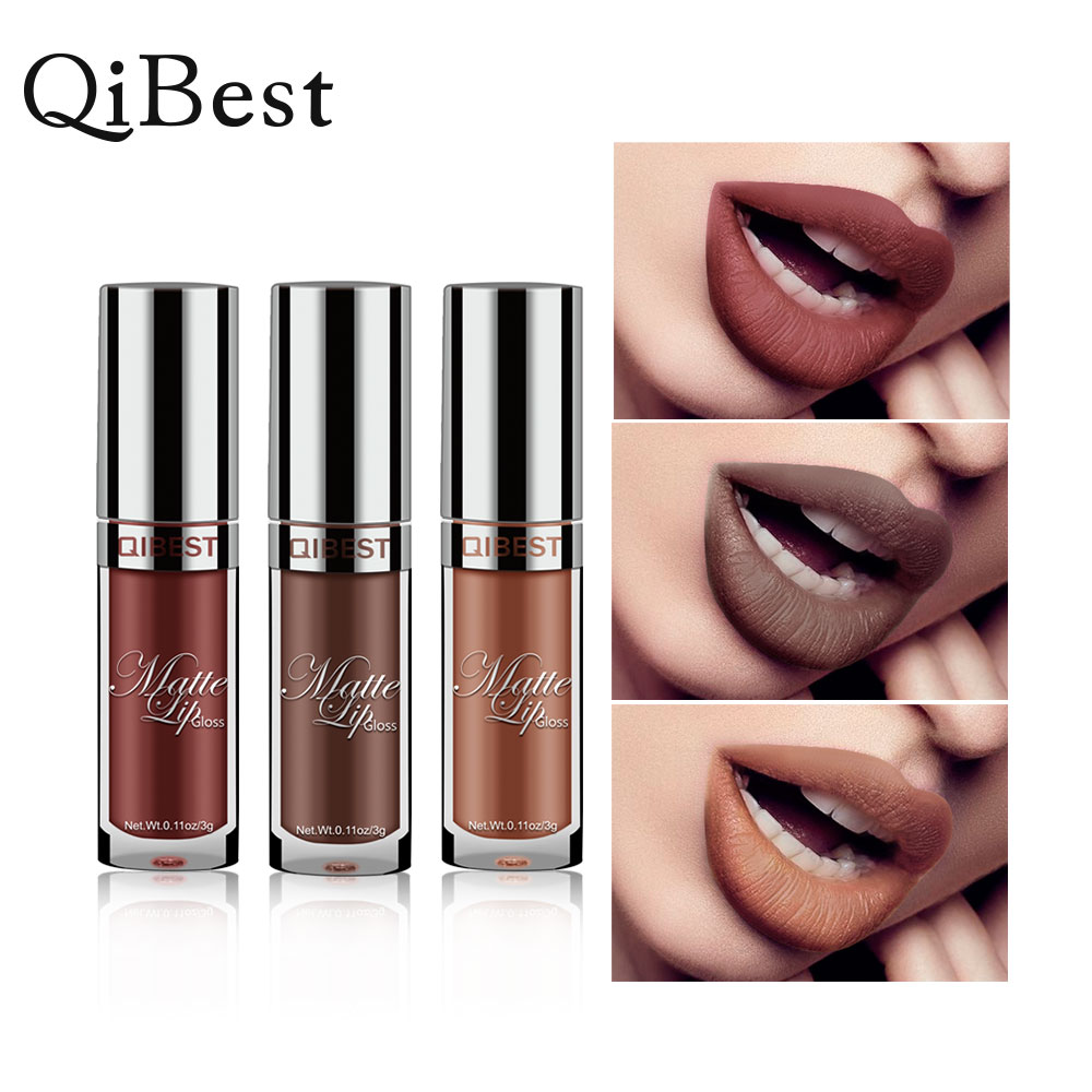 Waterproof Nude lipstick Matte Velvet Glossy Lip Long Lasting Lipstick Gloss Lipstick Lip Sexy Red Lip Tint 24 Colors Makeup